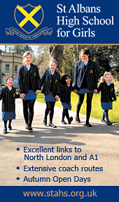 St Albans High School For Girls Advertisement